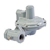 原装进口调压阀LOC105 CS400IN天然气调压阀