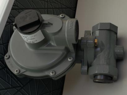 4- FisherHSR型低压燃气调压器
