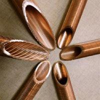 翅片铜管高效管