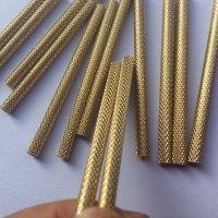 铜柱/铜支/铜条/铜棒H62黄铜螺丝纹加工件