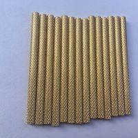 铜管精密切割激光打孔加工螺丝纹长度可切3mm以上