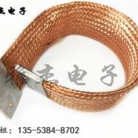 铜编织线软连接两端是怎么压接的?